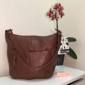 "NEW $119 The Sak ""Iris"" Hobo Bag in Teak (Brown)"